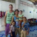 Família anfitriã em Nong Bua Daeng, Chaiyaphum, Thailand