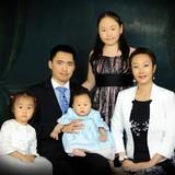 Famiglia a Zaisan, Ulan Bator, Mongolia