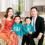 Familia anfitriona en Bai Dinh Pagoda,-Trang An ECO., Ninh Binh Province, Vietnam