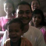 Famille d'accueil à Krabeiriel, Siem Reap Province, Cambodia