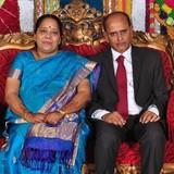 Famiglia a Nungambakkam, chennai, India