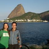 Familia anfitriona en Flamengo, Rio de Janeiro, Brazil