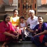 Famille d'accueil à Private House , Ubud , Indonesia