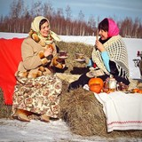 Famille d'accueil à Yegorievsk district, Village Ryzhevo, Russia