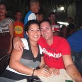Família anfitriã em urbano, remedios, Cuba