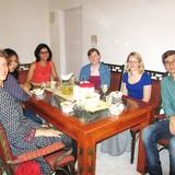 Famille d'accueil à M G Road , Bengaluru, India