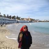 Famiglia a Sousse , Monastir , Tunisia
