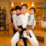 Família anfitriã em Tokyo, Chiba-ken,Ichikawa-city, Japan
