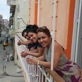 Famiglia a Centro habana, Havana, Cuba