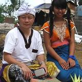 Famille d'accueil à Bresela, Ubud Gianyar bali, Indonesia