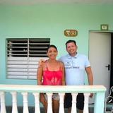 Host Family in Playa La Boca, calle principal, Trinidad, Cuba
