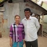 Familia anfitriona en Pang Na , Pang Na, Cambodia