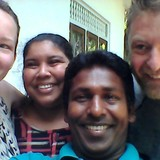 Familia anfitriona en Dodanduwa, Dodanduwa, Sri Lanka