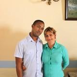 Famiglia a calle Alameda, Trinidad, Cuba