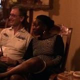 Familia anfitriona en El Tivoli, Santiago de Cuba City, Cuba