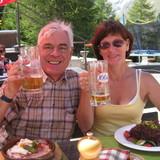 Familia anfitriona en kleiner Weinort, Müllheim, Germany
