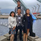 Familia anfitriona en South Port Coquitlam, Port Coquitlam, Canada