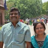 Gastfamilie in Tajganj, Agra, India