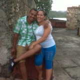 Familia anfitriona en La Laguna, Baracoa, Cuba