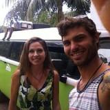 Família anfitriã em Ponta Negra, Manaus, Brazil