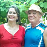 Familia anfitriona en La Playa, Baracoa, Cuba