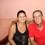 Famiglia a calle Mercedes, Trinidad, Cuba