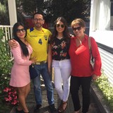 Famiglia a OE4-47, Quito, Ecuador