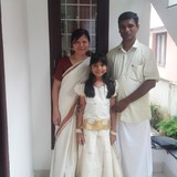 Familia anfitriona en Fort Cochin, Cochin, India