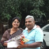 Famille d'accueil à GK-2, NEW DELHI, India