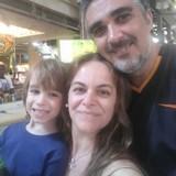Familia anfitriona en Lapa, Rio de Janeiro, Brazil