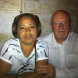 Famiglia a Vista Alegre, Santiago de Cuba, Cuba