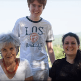 Gastfamilie in La Croce, Radda in Chianti , Italy