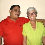 Famiglia a calle Desengaño, Trinidad, Cuba