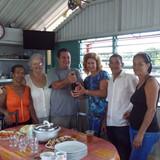 Familia anfitriona en Reparto Sueño, santiago de cuba0, Cuba