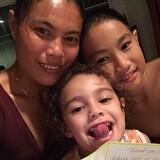 Famiglia a Khokloi, Takua Thung, Thailand