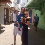 Famiglia a Biougra, Agadir, Morocco