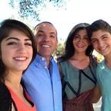 Familia anfitriona en Ozankoy, Ozanköy, Cyprus