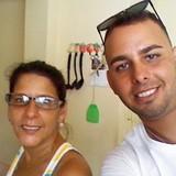 Famiglia a Punta Gorda, Cienfuegos, Cuba