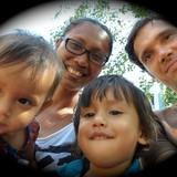 Famiglia a Jayan, Surakarta/Solo, Indonesia