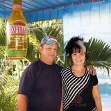 Famiglia a calle Cruz Verde, Trinidad, Cuba