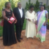 Família anfitriã em Ssanga Gombe Division , Uganda