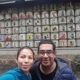 Familia anfitriona en Molino de Domingo, Puebla, Mexico