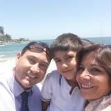 Famille d'accueil à Agua Santa, Viña del Mar, Chile