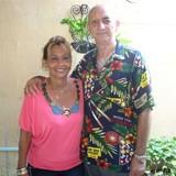Familia anfitriona en La Suncion, Baracoa, Cuba