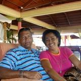 Famiglia a calle Rosario, Trinidad, Cuba