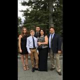 Familia anfitriona en Edgemont, Calgary, Canada