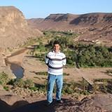 MoroccoOasis de Fint, Ouarzazate的房主家庭