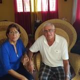 Familia anfitriona en Sueño, Santiago de Cuba, Cuba