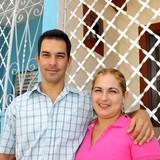 Host Family in calle Santo Domingo, Trinidad, Cuba