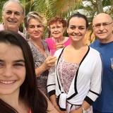 Familia anfitriona en Portes de Fer, Noumea, New Caledonia